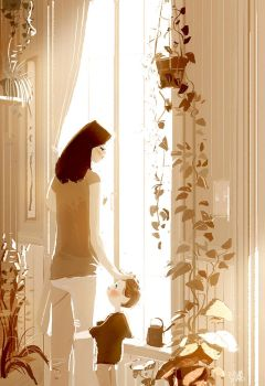Mom, I love you. by PascalCampion