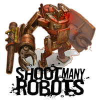 Shoot Many Robots Icon by Ni8crawler