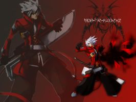 Ragna Wallpaper by Chi-townNinja