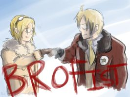 BROFIST by Bio-Electric-Anemone