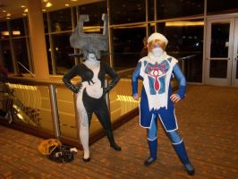 AFest '11 - Midna + Shiek by TEi-Has-Pants