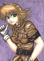 Seras doodle by StrawberryLoveAlways