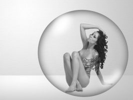 In the bubble by Flore