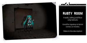 MMD Rusty room by IgnisDraconi