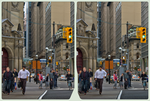 Yonge / Front Street Cross-Eye 3-D Stereoscopy by zour