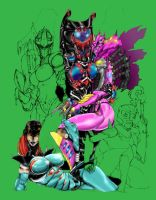Beast Machines BA - Full Color by Altitron