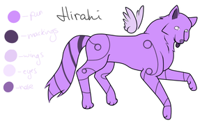 Hirahi -new ref- by Agowilt