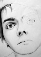 Gerard Way. WIP. by IWalkWithShadows