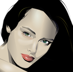 Inkscape Portrait Practice by Seothen