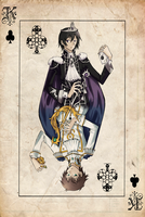 .:the king and the knight:. by Niji-iro