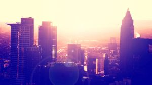 Frankfurt Sunset by Markus-Photo