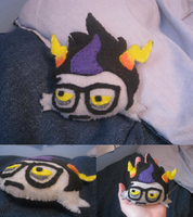 Homestuck - Eridan Ampora Plush Pillow by Another-Hitchhiker