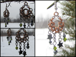 Modified Bubble Charm Earrings by ArmoredKoi