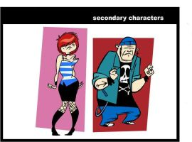 some secondary characters by megachron