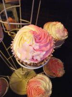 Pale pink theme: close up by MissMarysCakes