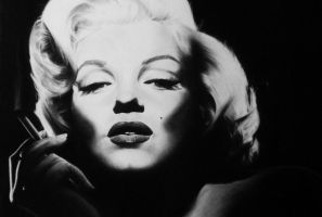 Marilyn Black 2 Detail by objectivereflective