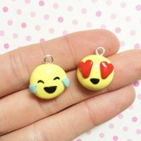 Laugh and Love Smiley Charms by anniscrafts