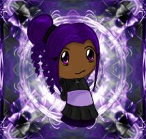 purple chibi by Ctykty
