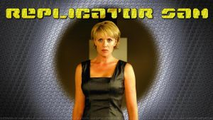 Amanda Tapping Replicator Samantha II v2 by Dave-Daring