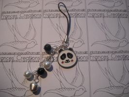 Kung Fu Panda phonestrap by ApoAddicted