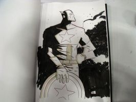 ACE sketch Captain America by ryancody