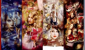 Taylor 4 avatars by bxromance