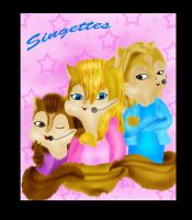 Mickey and the Singettes by brittanyandalvin