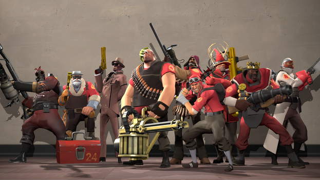 TF2 Youtubers by tf2redpie