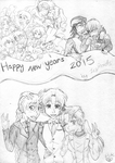 Happy New Year's 2015 by IcyRoads