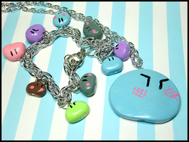 Clannad Dango Set by GrandmaThunderpants
