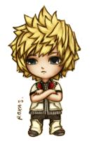 Slightly-Irritated Roxas Chibi by KariseSohma