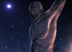 Azog The Pale Orc (The Hobbit) by NatiHassansin