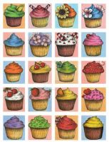 Cupcakes by Janelle-Dimmett