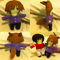 Final Product - Etheram Plushie~ :3 by Shadow-Rukario