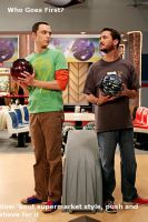 Sheldon VS. Wil Wheaton by DrSheldonCooperPhD