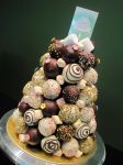 Cake Pop Tower by Sliceofcake