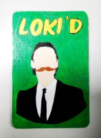 LOKI'D Magnet by RidiculousRandomHero