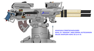 Anaplian ADAC 30mm twin autocannon by NikkoJT