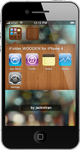 iFolder WOODEN for iPhone 4 by JackieTran