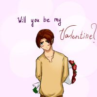 Will you be my valentine? by Aska2017