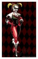 Harley Quinn Re-Imagined Print by WinkGuy1