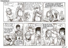UNSAYING IT strip by SkekLa