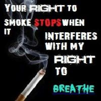 The Right To Smoke. The Right To Breathe. by TrixieCherry