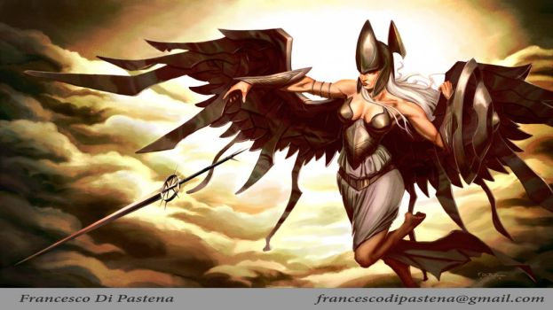 The Law Angel by francescodipastena