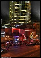 Nashville Downtown HDR by CaspersCreations