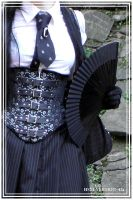 corset, tie and a fan by HSM-Version-42a