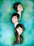 The Three Sisters by Geraldina