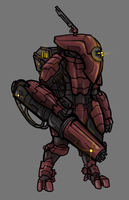 Tau XV25 stealth suit by octagoncalibrator