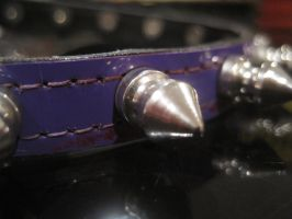 Spiked Choker by PuddingCuppieLyssa