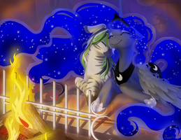 MLP FIM: Commission for Hyperfreak666 part 2 by hinoraito
